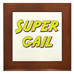 Super gail Framed Tile