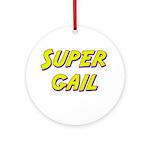 Super gail Ornament (Round)