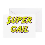 Super gail Greeting Card