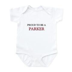 Proud to be a Parker Infant Bodysuit