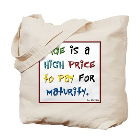 adult birthday high price Tote Bag
