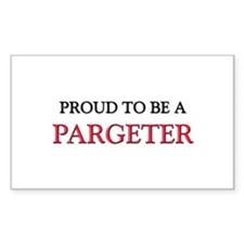 Proud to be a Pargeter Rectangle Sticker