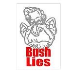 Bush Lies Postcards (Package of 8)