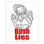 Bush Lies Small Poster
