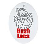 Bush Lies Keepsake (Oval)