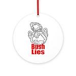 Bush Lies Keepsake (Round)