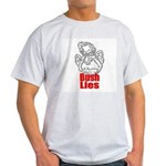 Bush Lies Ash Grey T-Shirt