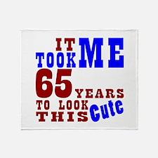 65 Cute Birthday Throw Blanket
