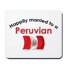 Happily Married Peruvian 2 Mousepad