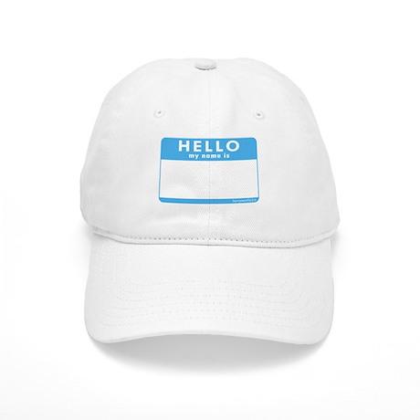 Blank Name Tag Cap