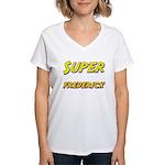 Super frederick Women's V-Neck T-Shirt