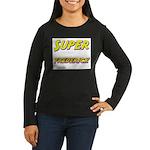 Super frederick Women's Long Sleeve Dark T-Shirt