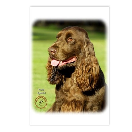 Field Spaniel 9P018D-158 Postcards (Package of 8)