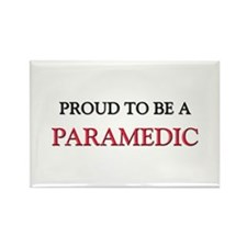 Proud to be a Paramedic Rectangle Magnet