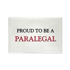 Proud to be a Paralegal Rectangle Magnet