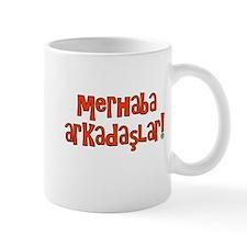 Hello Friends Turkish Mug