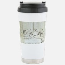 We The People Stainless Steel Travel Mug