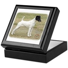Fox Terrier 9P011D-093 Keepsake Box