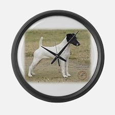 Fox Terrier 9P011D-093 Large Wall Clock