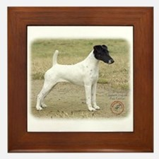 Fox Terrier 9P011D-093 Framed Tile