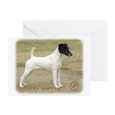 Fox Terrier 9P011D-093 Greeting Cards (Pk of 20)