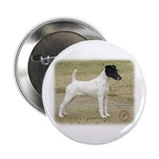 "Fox Terrier 9P011D-093 2.25"" Button"