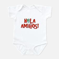 Hello Friends Spanish Infant Bodysuit