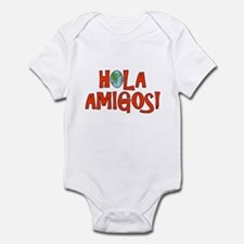 Hello Friends Spanish Onesie
