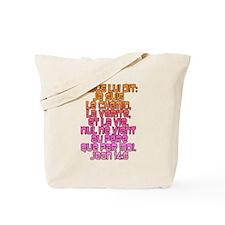 John 14:6 French Tote Bag