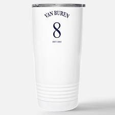 Martin Van Buren Stainless Steel Travel Mug