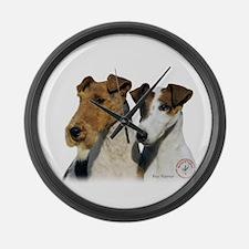 Fox Terrier 9T008D-30 Large Wall Clock