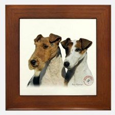 Fox Terrier 9T008D-30 Framed Tile