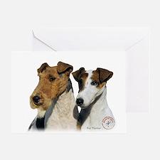 Fox Terrier 9T008D-30 Greeting Card