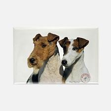 Fox Terrier 9T008D-30 Rectangle Magnet (10 pack)