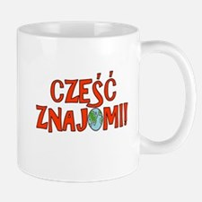 Hello Friends Polish Small Mugs