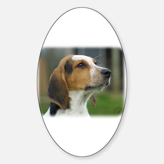 Foxhound 9C005D-07 Sticker (Oval)