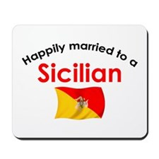 Happily Married Sicilian 2 Mousepad