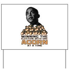 Obama - Acorn Yard Sign