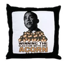 Obama - Acorn Throw Pillow