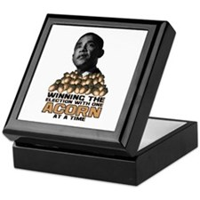 Obama - Acorn Keepsake Box