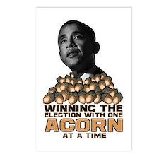 Obama - Acorn Postcards (Package of 8)