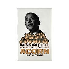 Obama - Acorn Rectangle Magnet