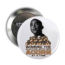 """Obama - Acorn 2.25"""" Button"""