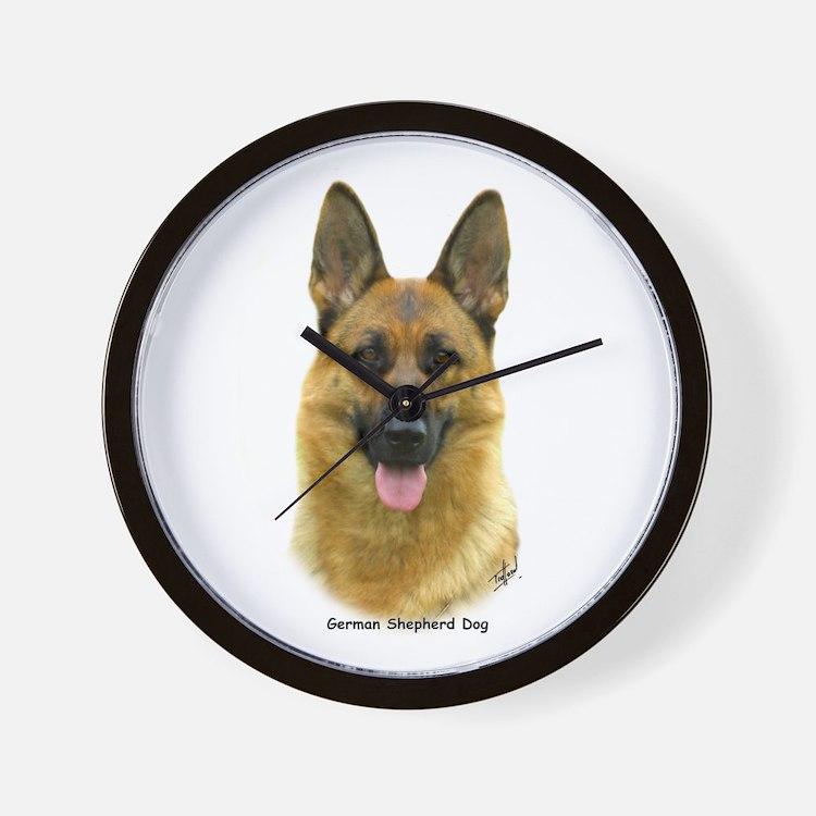 German Shepherd 9B51D-11 Wall Clock