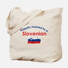 Happily Married Slovenian 2 Tote Bag