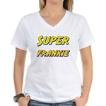 Super frankie Women's V-Neck T-Shirt