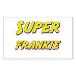 Super frankie Rectangle Sticker