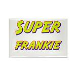 Super frankie Rectangle Magnet