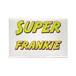 Super frankie Rectangle Magnet (10 pack)