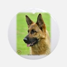 German Shepherd Dog 9B50D-20 Ornament (Round)
